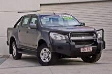 2013 Holden Colorado RG MY14 LX Crew Cab Royal Grey 6 Speed Sports Automatic Cab Chassis Hillcrest Logan Area Preview