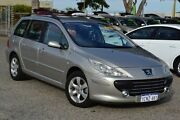 2007 Peugeot 307 T6 XSE HDi Touring Gold 6 Speed Sports Automatic Wagon Wangara Wanneroo Area Preview