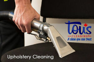 CARPET AND UPHOLSTERY CLEANING | Tous Cleaning Inc. Edmonton Edmonton Area image 8