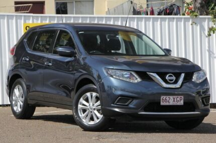 2014 Nissan X-Trail T32 ST X-tronic 4WD Blue 7 Speed Constant Variable Wagon