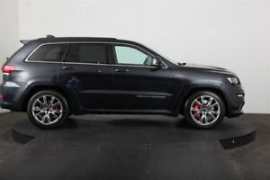 2013 Jeep Grand Cherokee WK MY14 SRT 8 (4x4) Black 8 Speed Automatic Wagon