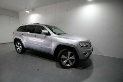 2014 Jeep Grand Cherokee WK MY15 Limited Silver 8 Speed Sports Automatic Wagon