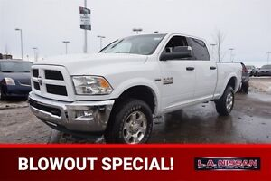 2016 Ram 2500 4X4 CREW OUTDOORSMAN Accident Free,  Back-up Cam,