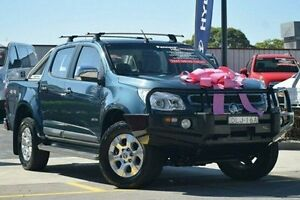 2012 Holden Colorado RG MY13 LTZ Crew Cab Blue 5 Speed Manual Utility Thornleigh Hornsby Area Preview