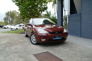 2003 Ford Focus LR MY2003 LX Maroon 4 Speed Automatic Sedan Ashmore Gold Coast City Preview
