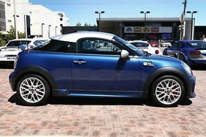 2013 Mini Coupe R58 John Cooper Works Blue 6 Speed Manual Coupe Osborne Park Stirling Area Preview