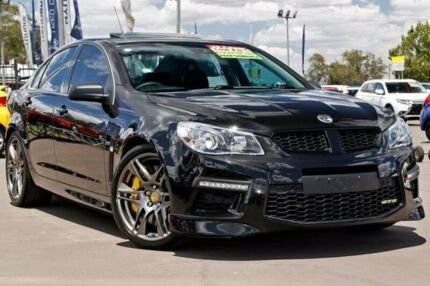 2015 Holden Special Vehicles GTS GEN-F MY15 Black 6 Speed Sports Automatic Sedan