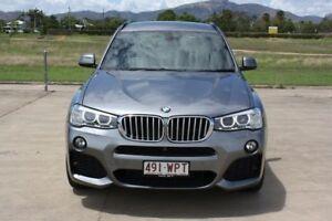 2015 BMW X3 F25 LCI xDrive30d Steptronic Space Grey 8 Speed Sports Automatic Wagon