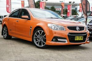 2013 Holden Commodore VF MY14 SS V Orange 6 Speed Sports Automatic Sedan Blacktown Blacktown Area Preview