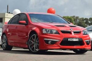 2010 Holden Special Vehicles Clubsport E2 Series R8 Red 6 Speed Auto Active Sequential Sedan Waitara Hornsby Area Preview