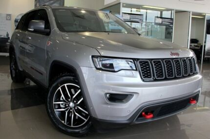 2017 Jeep Grand Cherokee WK MY17 Trailhawk Billet Silver 8 Speed Sports Automatic Wagon