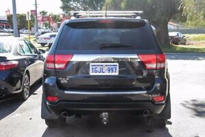 2012 Jeep Grand Cherokee WK MY12 Overland (4x4) Silver 6 Speed Automatic Wagon