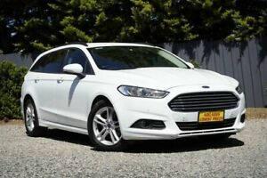 2016 Ford Mondeo MD Ambiente White 6 Speed Sports Automatic Dual Clutch Wagon Morphett Vale Morphett Vale Area Preview