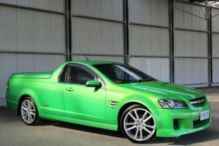 2007 Holden Ute VE SS Green 6 Speed Sports Automatic Utility