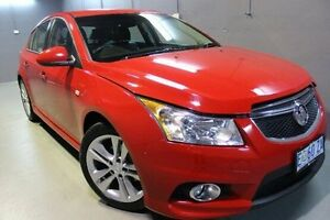 2013 Holden Cruze JH Series II MY13 SRi Red 6 Speed Sports Automatic Hatchback Invermay Launceston Area Preview