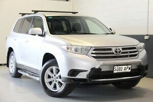 2012 Toyota Kluger Silver Sports Automatic Wagon Nailsworth Prospect Area Preview
