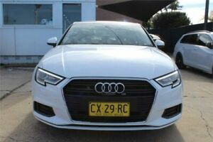2016 Audi A3 8V MY17 1.4 TFSI CoD White 7 Speed Auto S-Tronic Sedan Five Dock Canada Bay Area Preview
