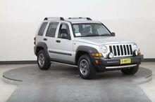 2005 Jeep Cherokee KJ MY05 Upgrade Renegade (4x4) Silver 5 Speed Automatic Wagon Smithfield Parramatta Area Preview