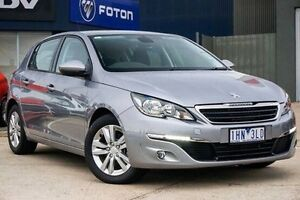 2015 Peugeot 308 T9 Active Grey 6 Speed Sports Automatic Hatchback Lake Wendouree Ballarat City Preview