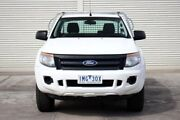 2012 Ford Ranger PX XL White 6 Speed Manual Cab Chassis Seaford Frankston Area Preview
