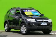 2008 Holden Captiva CG MY08 CX AWD Black 5 Speed Sports Automatic Wagon Ringwood East Maroondah Area Preview
