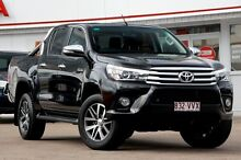 2015 Toyota Hilux GGN125R SR5 Double Cab Eclipse Black 6 Speed Sports Automatic Utility Woolloongabba Brisbane South West Preview