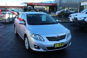 2007 Toyota Corolla ZRE152R Conquest Silver 4 Speed Automatic Sedan South Maitland Maitland Area Preview