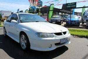 2001 Holden Commodore VX SS White Sedan West Footscray Maribyrnong Area Preview