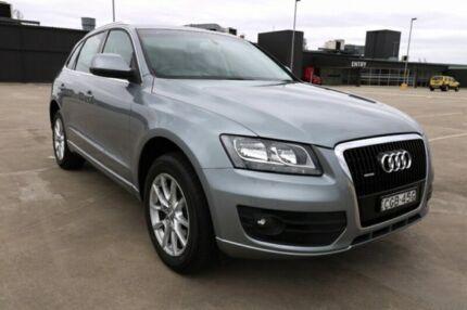 2010 Audi Q5 8R MY10 FSI S tronic quattro Grey 7 Speed Sports Automatic Dual Clutch Wagon