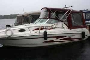 bateau 26.6 pieds rinker  (moteur neuf a 76 heures)