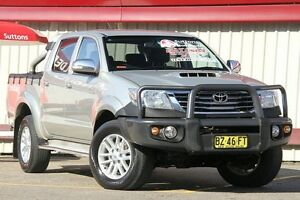 2014 Toyota Hilux KUN26R MY14 SR5 (4x4) Silver 5 Speed Automatic Dual Cab Pick-up Homebush Strathfield Area Preview