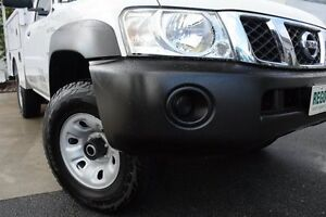 2011 Nissan Patrol GU 6 Series II DX White 5 Speed Manual Cab Chassis Robina Gold Coast South Preview