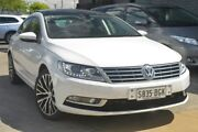 2014 Volkswagen CC Type 3CC MY15 130TDI DSG White 6 Speed Sports Automatic Dual Clutch Coupe Hillcrest Port Adelaide Area Preview