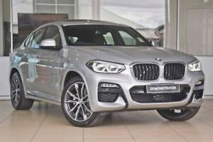 2018 BMW X4 G02 xDrive20i Coupe Steptronic M Sport Silver 8 Speed Automatic Wagon