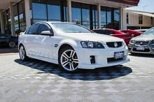 2008 Holden Commodore VE SV6 White 5 Speed Sports Automatic Sedan Alfred Cove Melville Area Preview