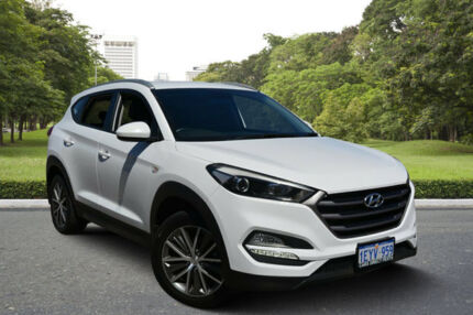 2016 Hyundai Tucson TL Active X (FWD) White 6 Speed Automatic Wagon Kewdale Belmont Area Preview