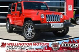 2012 Jeep Wrangler Unlimited Sahara / Dual Top Group / Trailer T