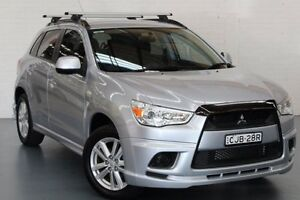 2012 Mitsubishi ASX XA MY12 Activ 2WD Silver 5 Speed Manual Wagon Glendale Lake Macquarie Area Preview