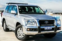 2012 Toyota Landcruiser VDJ200R MY10 GXL Silver 6 Speed Sports Automatic Wagon Osborne Park Stirling Area Preview
