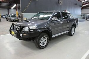 2011 Toyota Hilux KUN26R MY12 SR5 Double Cab Grey 4 Speed Automatic Utility Maryville Newcastle Area Preview