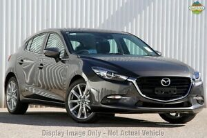 2017 Mazda 3 BN MY17 SP25 GT Machine Grey 6 Speed Automatic Hatchback Gymea Sutherland Area Preview