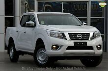 2015 Nissan Navara D23 RX White 6 Speed Manual Utility Mount Gambier Grant Area Preview