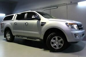 2014 Ford Ranger PX XLT Super Cab Silver 6 Speed Sports Automatic Utility Launceston Launceston Area Preview