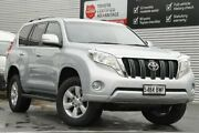 2017 Toyota Landcruiser Prado GDJ150R GXL Silver Pearl 6 Speed Sports Automatic Wagon Adelaide CBD Adelaide City Preview