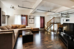 Very Large CONDO style LOFT - Downtown / Montreal / Plateau