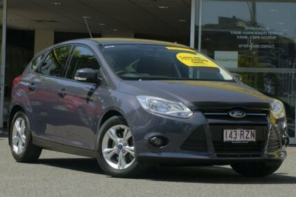 2011 Ford Focus LW Trend PwrShift Grey 6 Speed Sports Automatic Dual Clutch Hatchback Woolloongabba Brisbane South West Preview