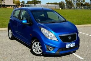 2011 Holden Barina Spark MJ CD Blue 5 Speed Manual Hatchback