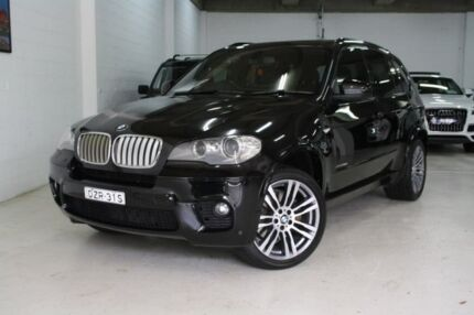 2012 BMW X5 E70 MY12 xDrive40d Steptronic Sport Black 8 Speed Sports Automatic Wagon Castle Hill The Hills District Preview