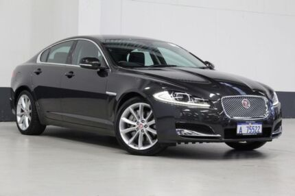 2014 Jaguar XF MY13 3.0D S Grey 8 Speed Automatic Sedan Bentley Canning Area Preview