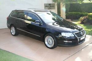 2006 Volkswagen Passat Type 3C MY07 TDI DSG Black Ice Pearl 6 Speed Sports Automatic Dual Clutch Bundall Gold Coast City Preview